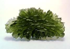 Types Of Crystals (Moldavite)